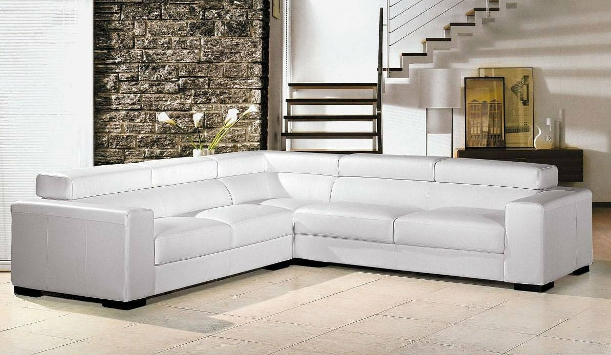 Sofas Center : White Leather Sofa Cream Free Shipping European And pertaining to European Sectional Sofas (Image 29 of 30)
