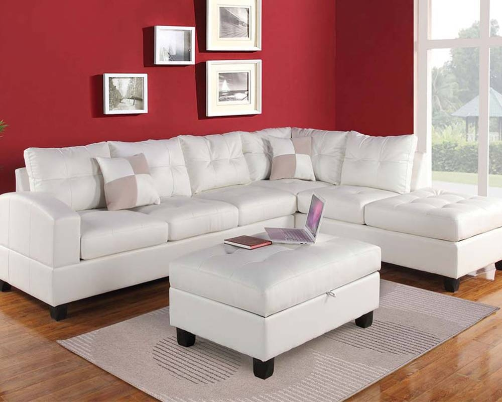Sofas Center : White Sectional Sofas For Small Spaces Leterwhite intended for White Sectional Sofa for Sale (Image 25 of 30)