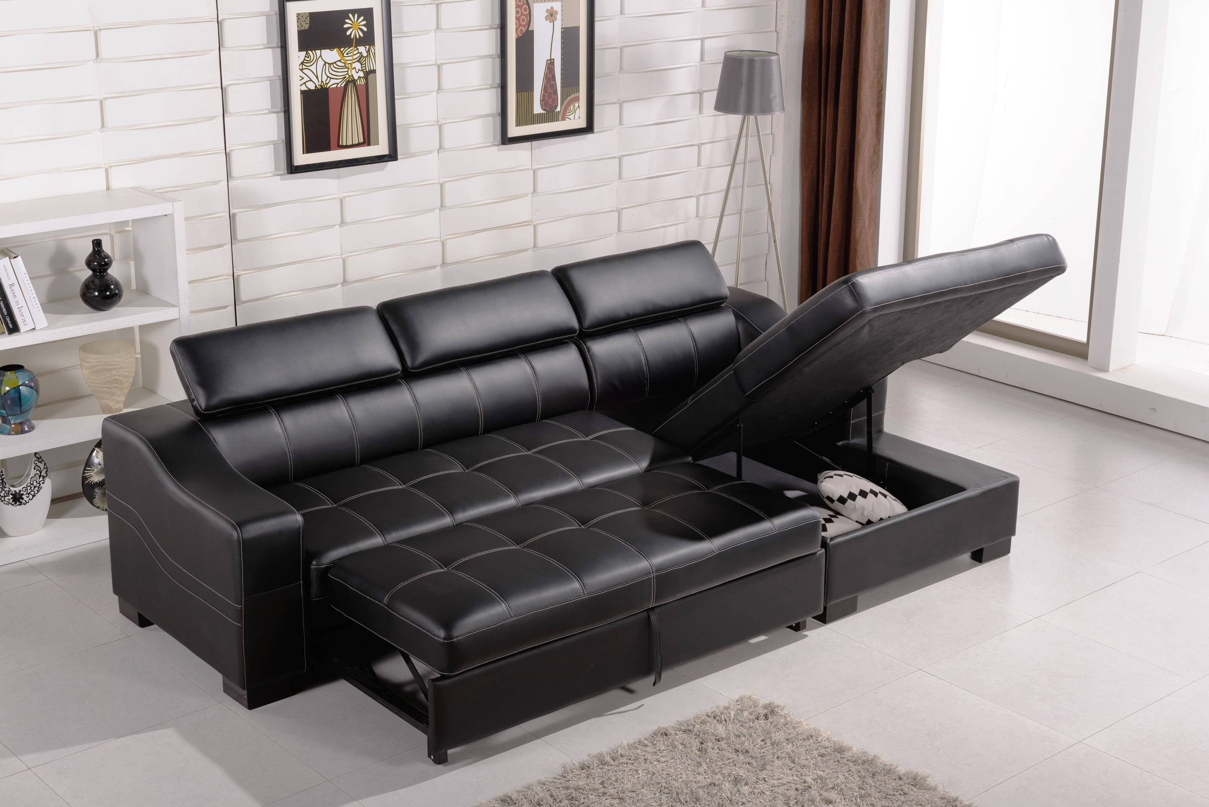 Sofas: Chaise Sofa Bed | Chaise Storage Sofa Bed | Ikea Sofa Bed regarding Storage Sofa Ikea (Image 25 of 25)