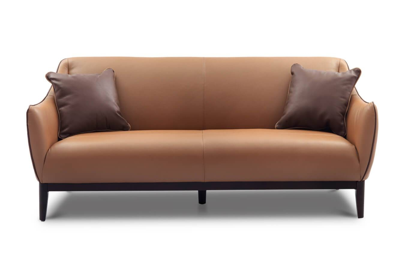 Sofas & Couches | Leather & Fabric Sofas | Simply Sofas with regard to Leather and Material Sofas (Image 22 of 30)