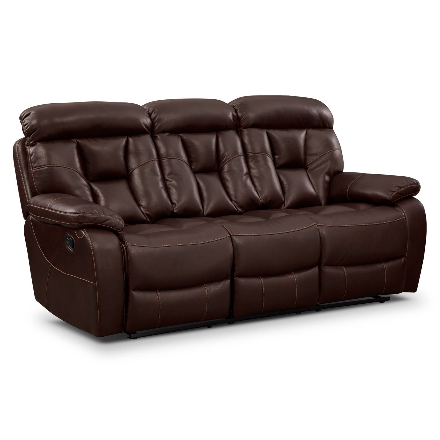 Sofas & Couches | Living Room Seating | Value City Furniture in Sofa Chair Recliner (Image 26 of 30)