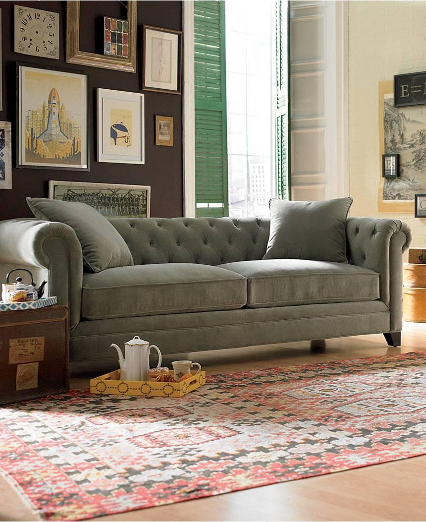 Sofas: Elegant Living Room Sofas Designmacys Sectional Sofa pertaining to Comfy Sectional Sofa (Image 27 of 30)