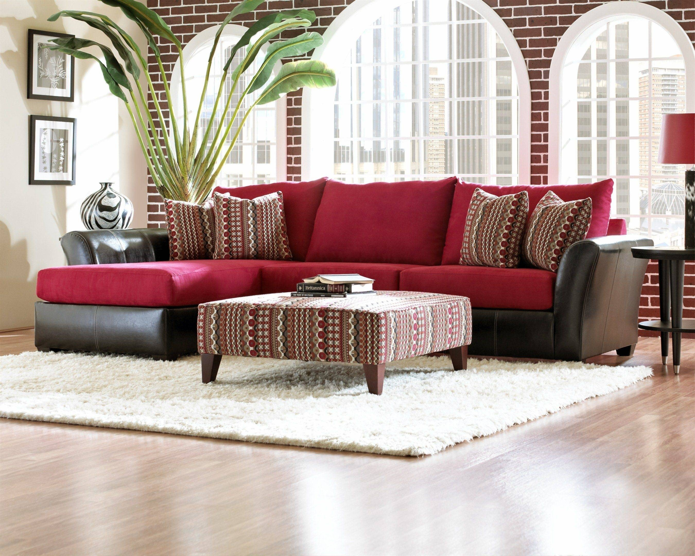 Sofas: Luxury Your Living Room Sofas Design With Red Sectional pertaining to Colorful Sectional Sofas (Image 26 of 30)