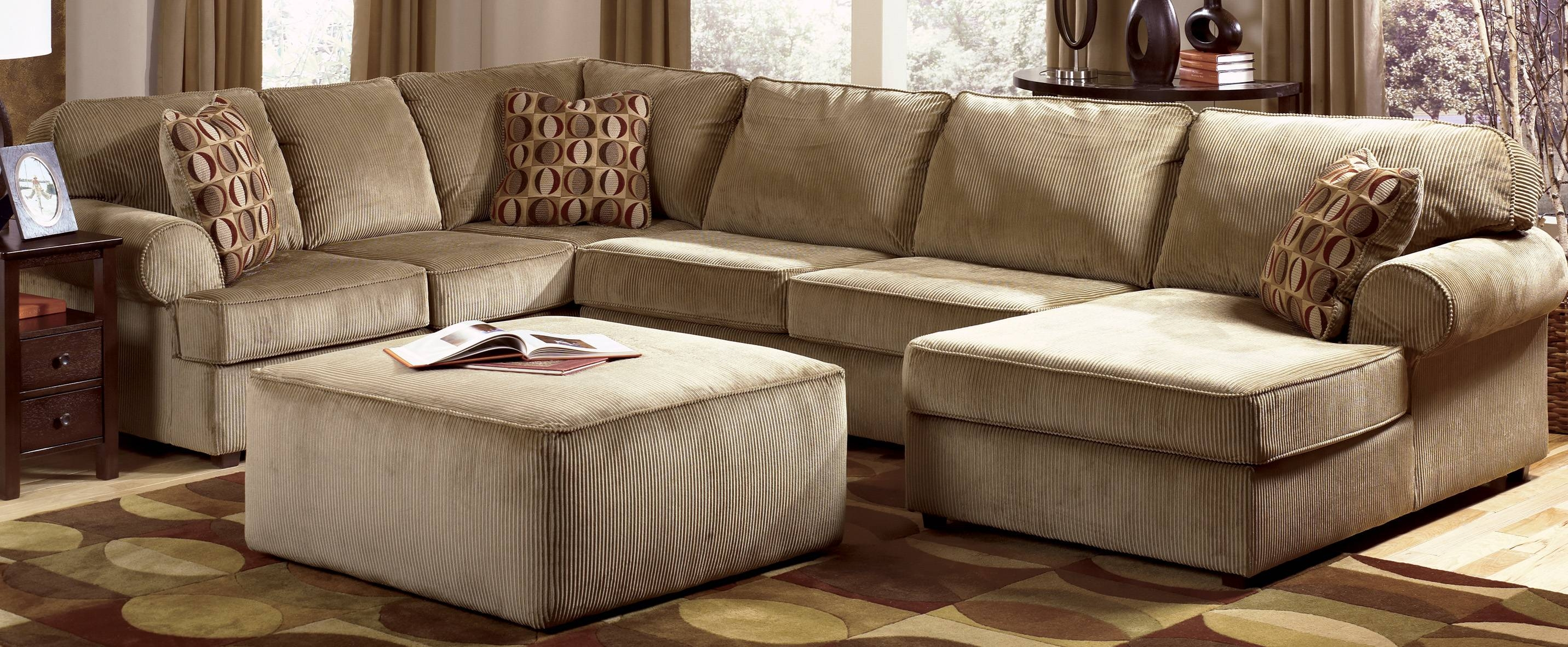 Sofas: Oversized Sofas That Are Ready For Hours Of Lounging Time throughout C Shaped Sectional Sofa (Image 24 of 30)