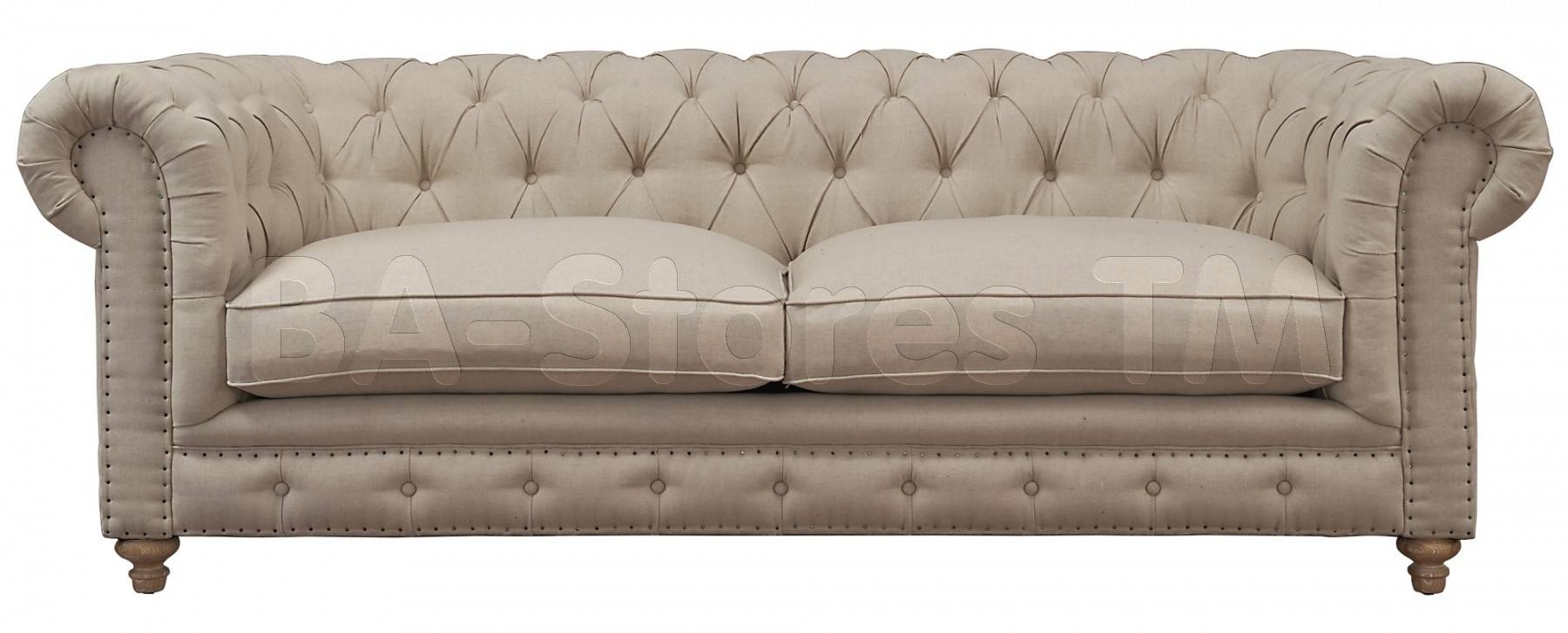 Sofas: Oxford Beige Linen Sofa Tov S19/4   Ba Stores For Oxford Sofas (Photo 6 of 30)