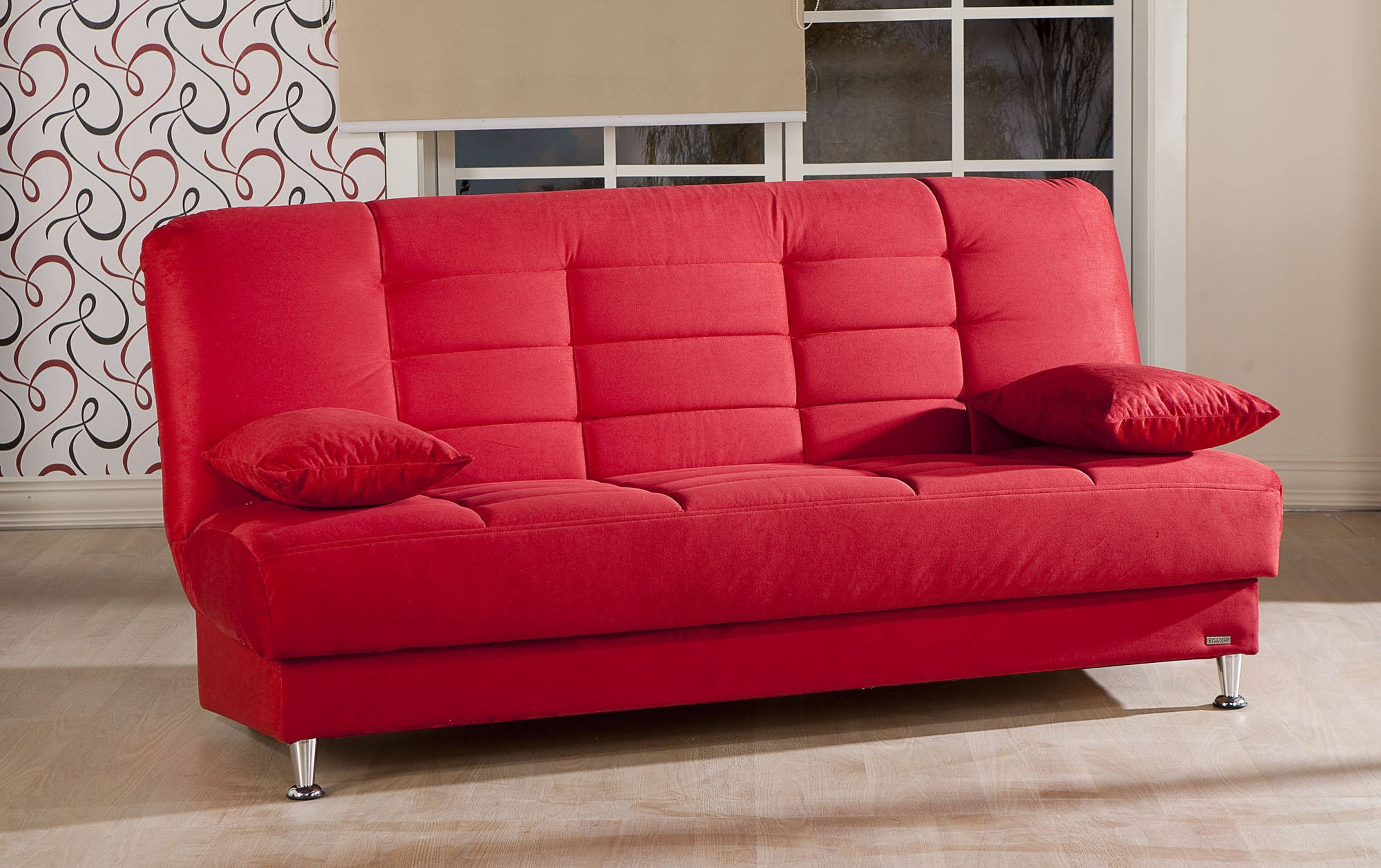 Sofas: Red Sectional Sofa With Chaise | Red Sectional Sofa throughout Red Sofa Chairs (Image 29 of 30)