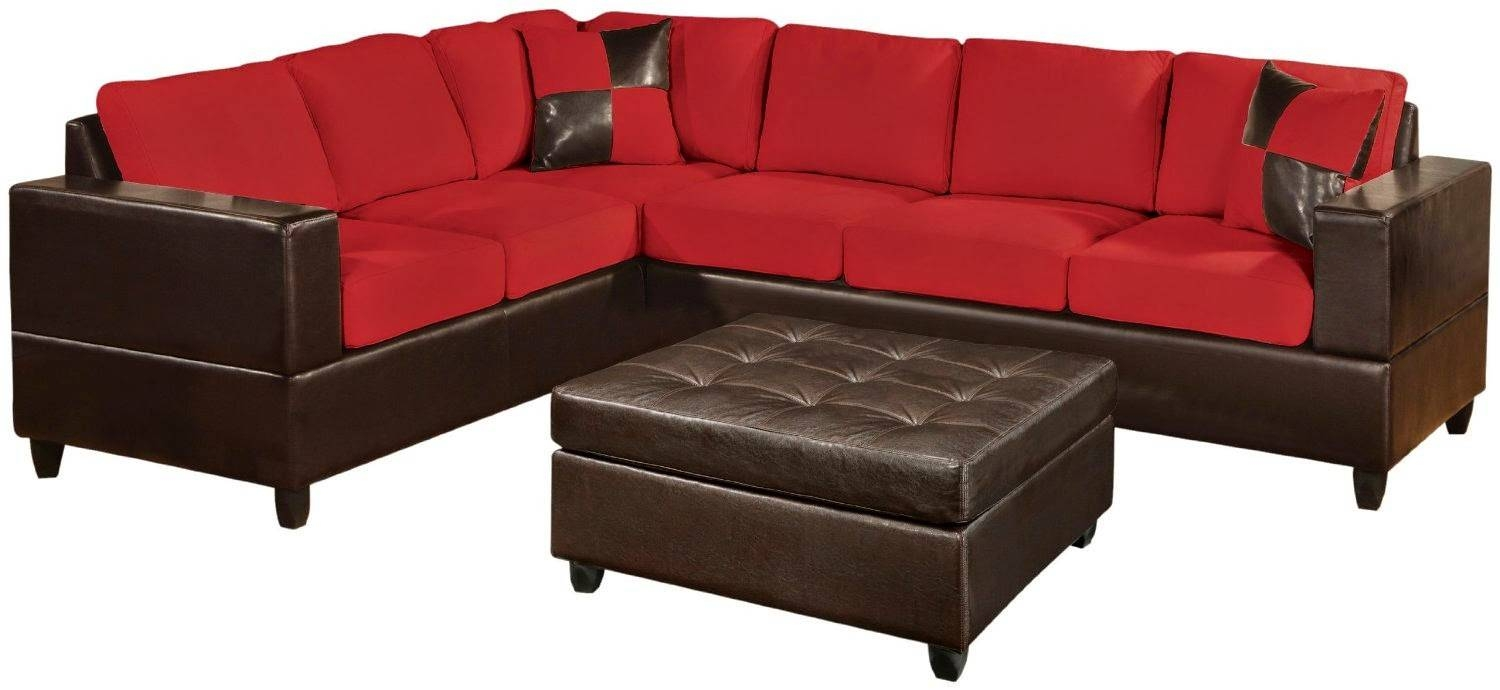 Sofas: Striking Cheap Sofa Sleepers For Small Living Spaces throughout Red Sectional Sleeper Sofas (Image 29 of 30)