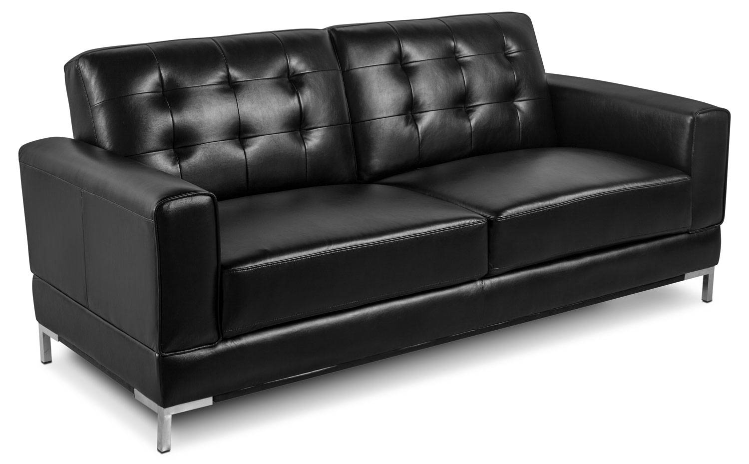 Sofas | The Brick in The Brick Leather Sofa (Image 27 of 30)