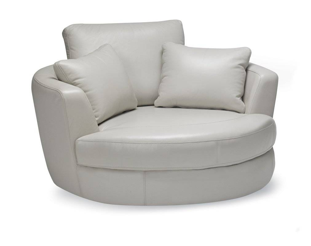 Sofas To Go Cuddle Barrel Chair & Reviews | Wayfair with Cuddler Swivel Sofa Chairs (Image 24 of 30)