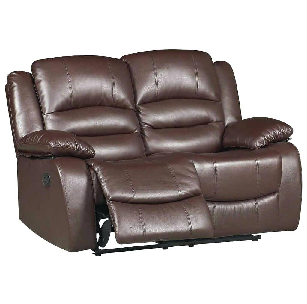 Soft Leather Sofas Furniture Venice 2 Seater Espresso Reclining Intended For 2 Seater Recliner Leather Sofas (View 23 of 30)