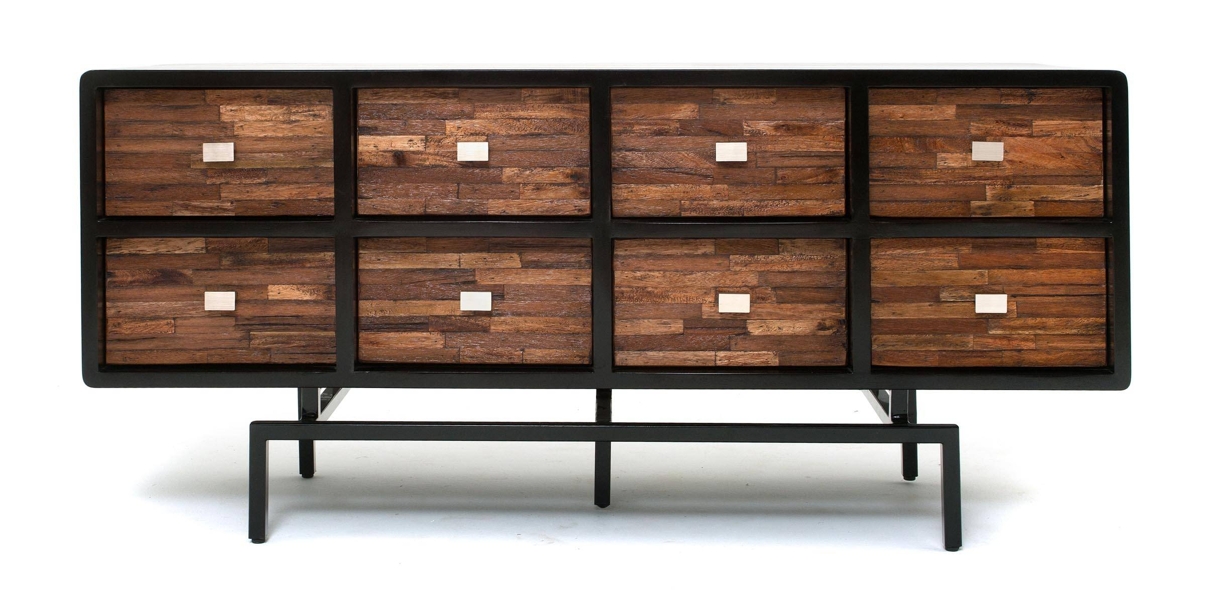 Soft Modern Furniture, Sustainable Sideboard, Reclaimed Wood regarding Contemporary Wood Sideboards (Image 30 of 30)