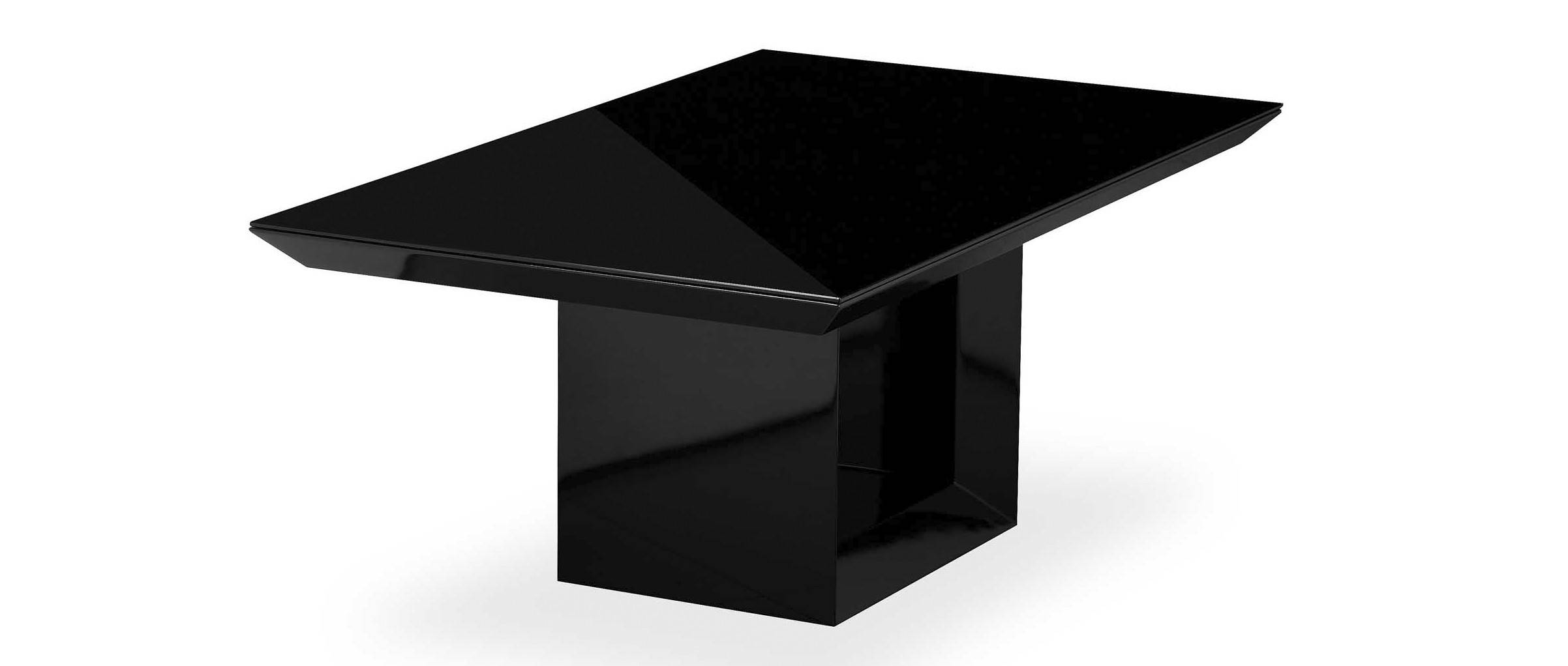 Soho - Coffee Table Top - Black High Gloss throughout Soho Coffee Tables (Image 19 of 30)