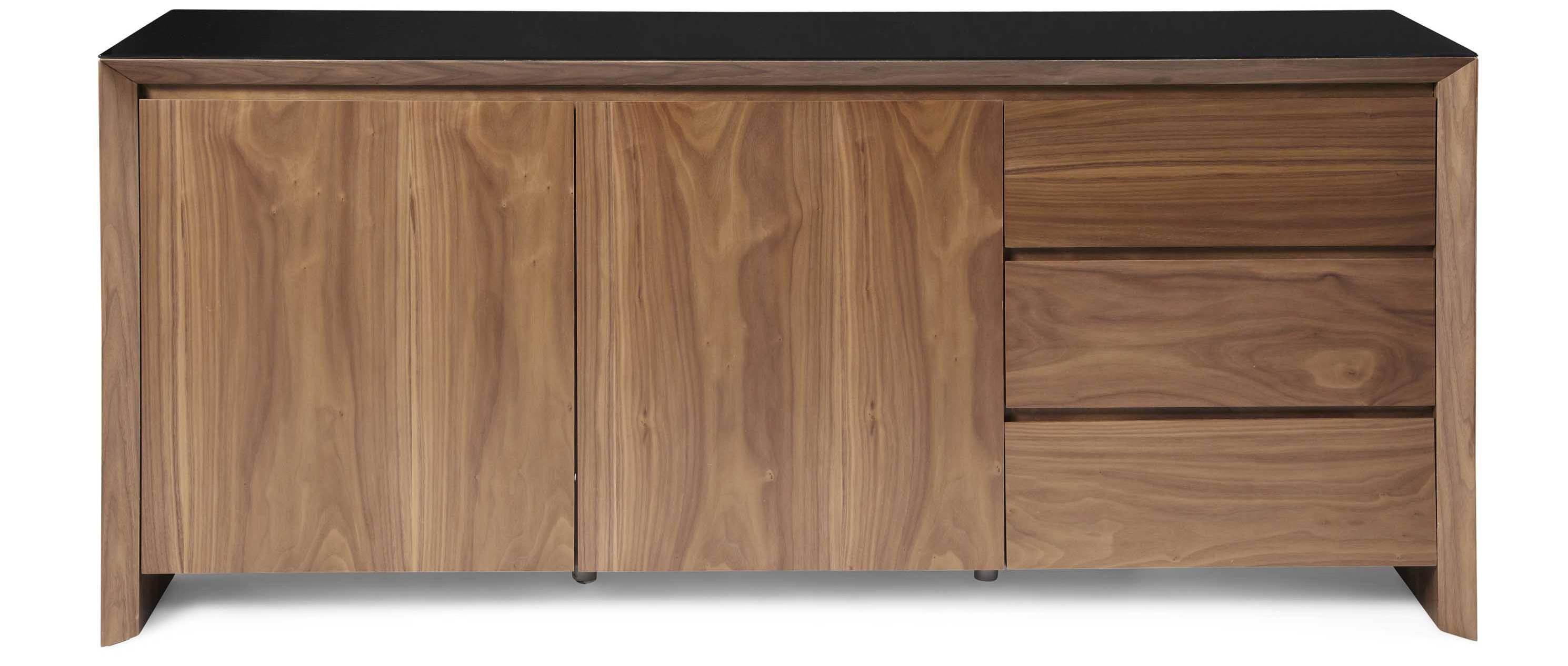 Soho - Extra Large Sideboard - Walnut throughout Fully Assembled Sideboards (Image 26 of 30)