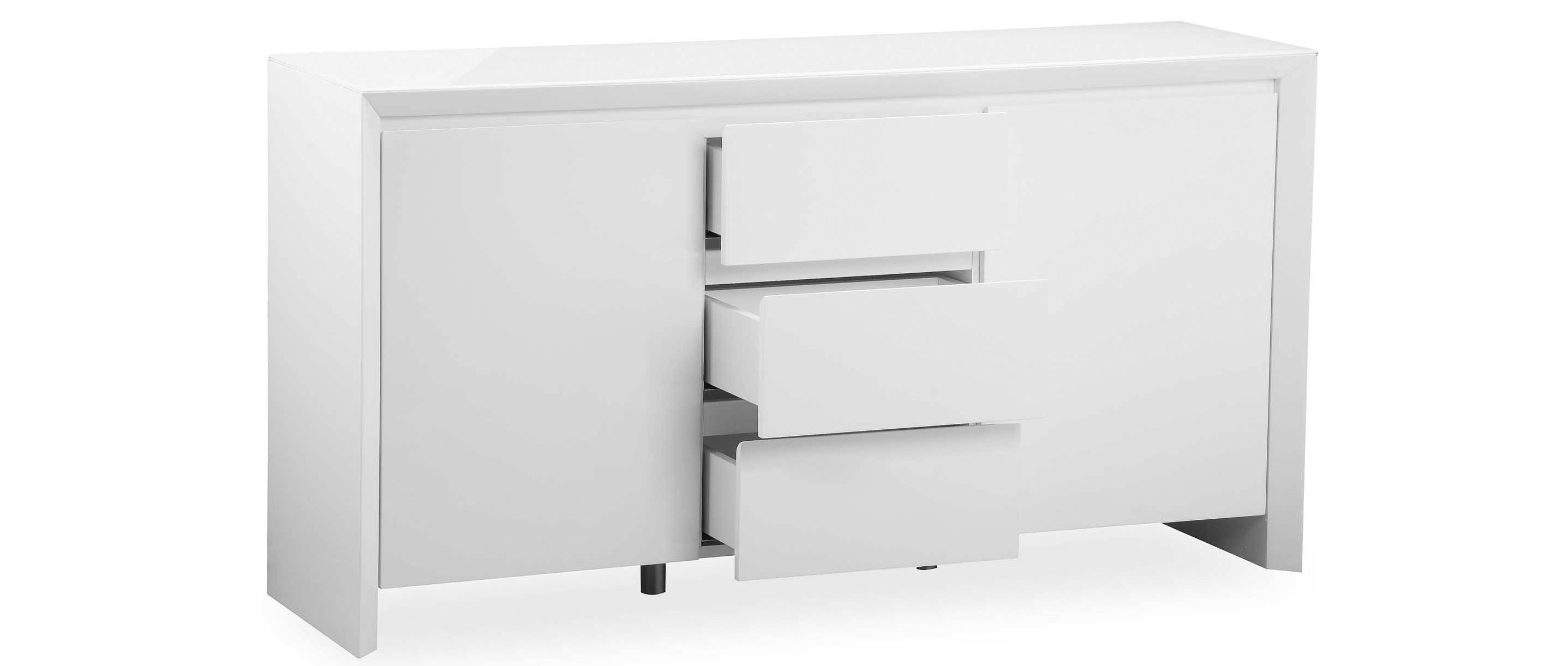 Soho - Large Sideboard - White High Gloss regarding White High Gloss Sideboards (Image 26 of 30)