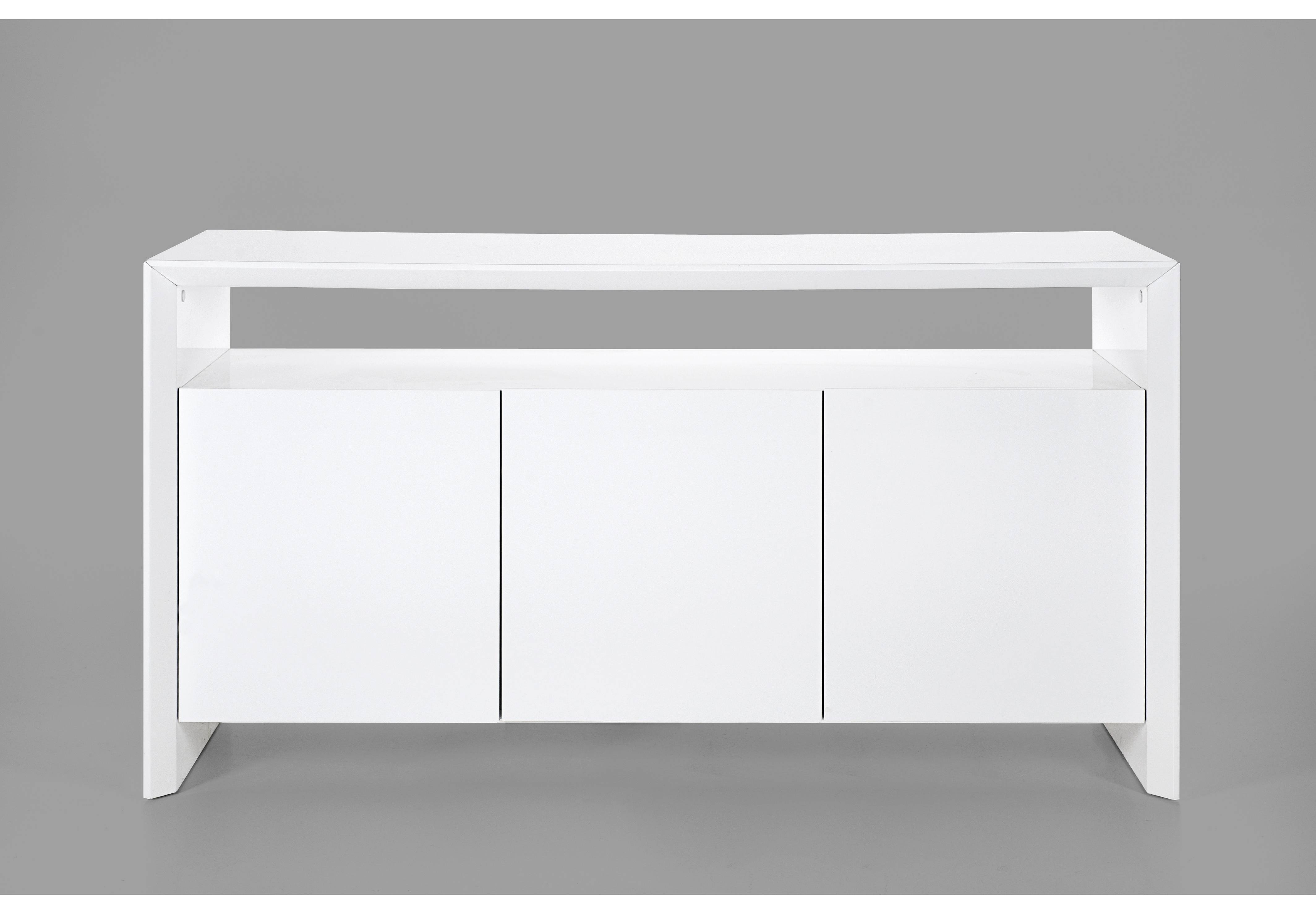 Soley White High Gloss Sideboard with regard to White High Gloss Sideboards (Image 27 of 30)