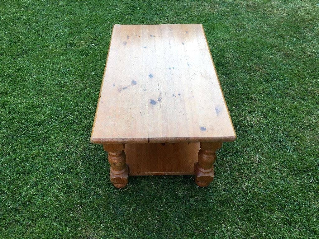 Solid Antique Pine Coffee Table | In Stafford, Staffordshire | Gumtree with regard to Antique Pine Coffee Tables (Image 29 of 30)