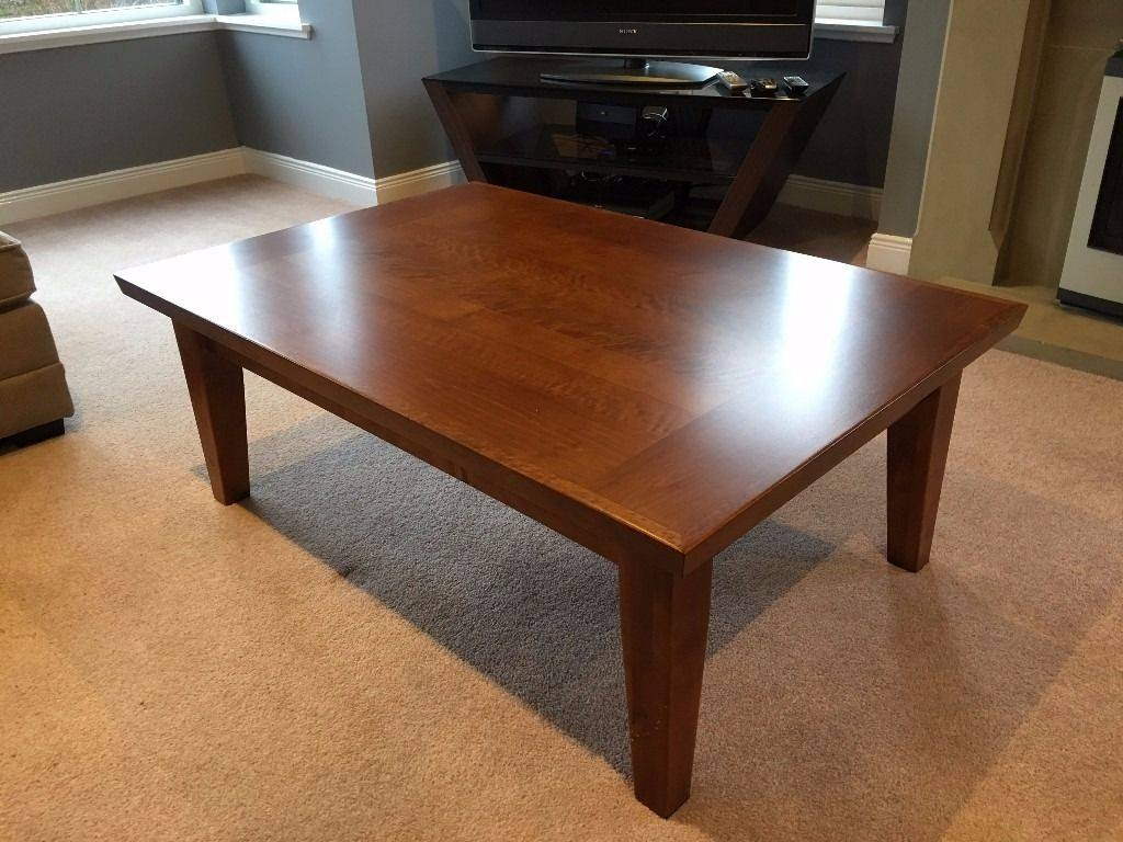 Solid Dark Oak Coffee Table (M&s) | In Ellon, Aberdeenshire | Gumtree throughout M&s Coffee Tables (Image 28 of 30)