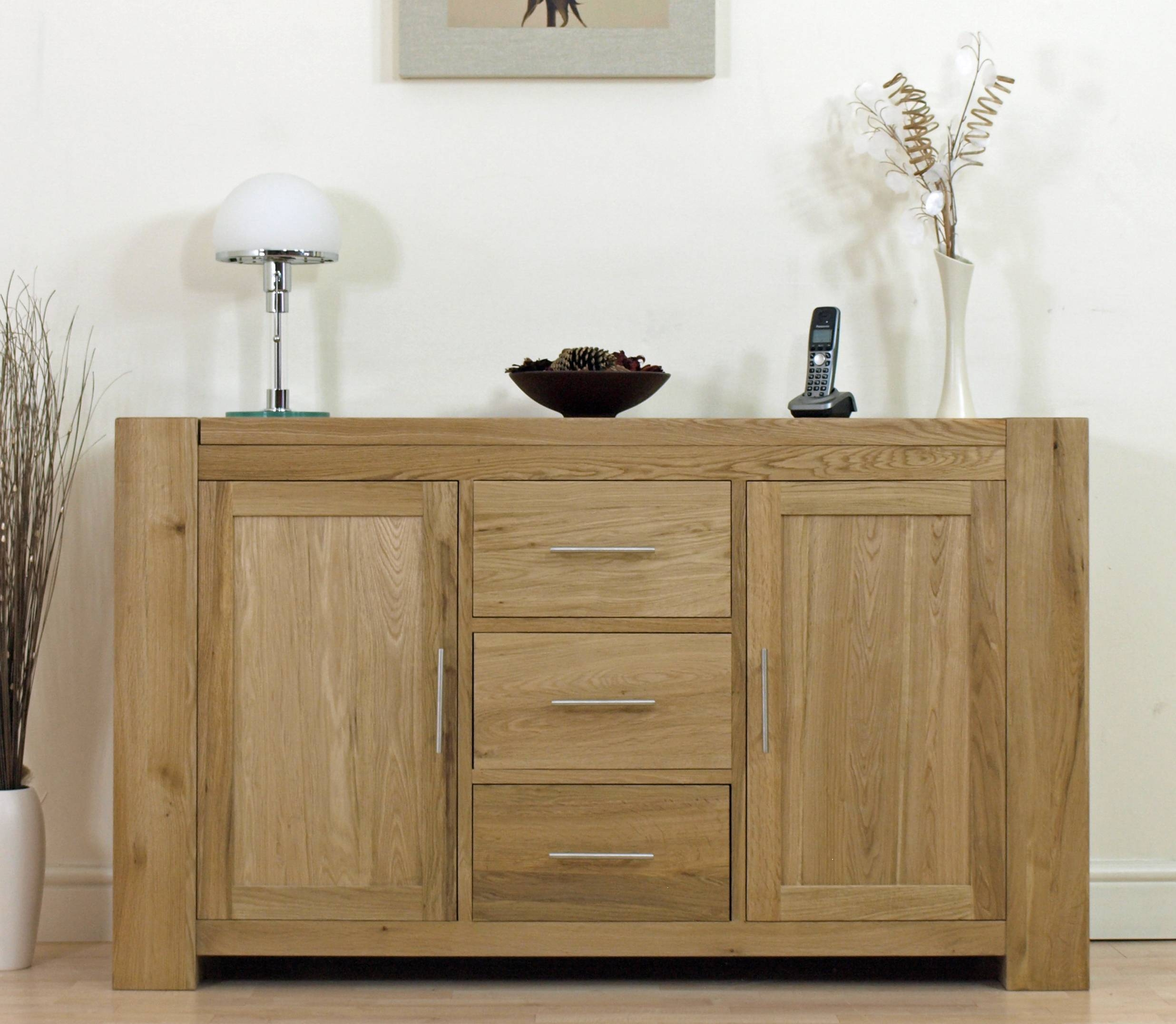 Solid Oak Sideboard Is Your First Choice Living Room Furniture - Hgnv pertaining to Contemporary Oak Sideboards (Image 30 of 30)