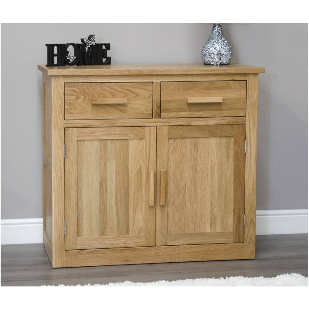 Solid Oak Sideboards For Living Rooms Throughout Small Sideboards (View 28 of 30)