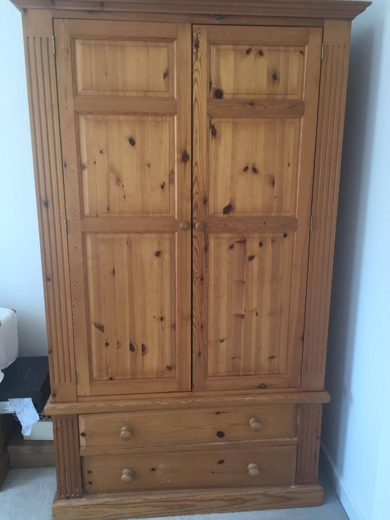 Solid Pine Double Wardrobe | In Keynsham, Bristol | Gumtree with regard to Pine Double Wardrobes (Image 14 of 15)