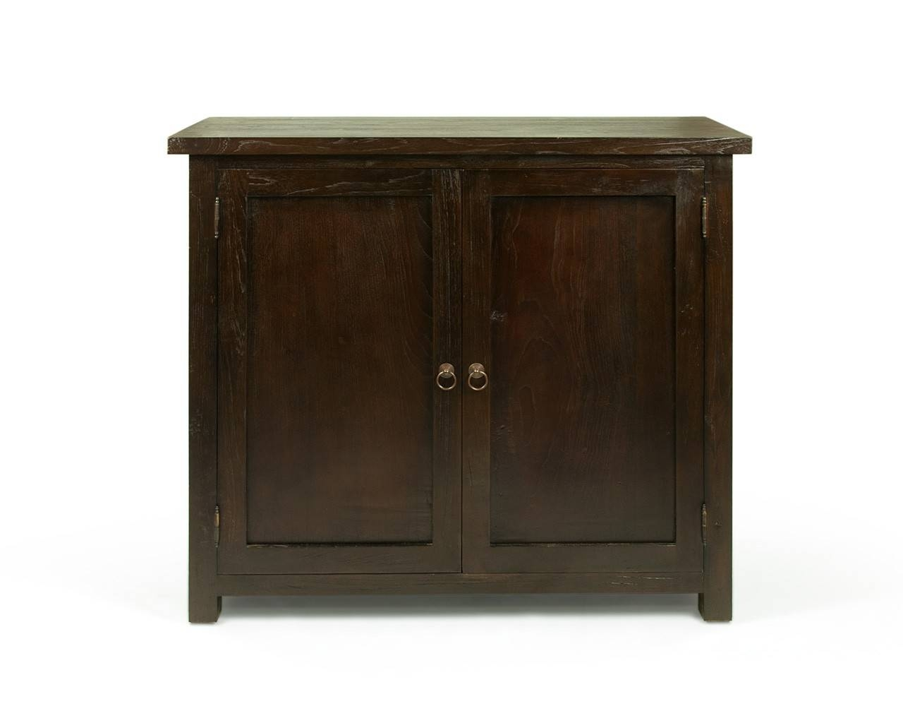 Solid Reclaimed Teak Sideboard - Henry within Dark Brown Sideboards (Image 27 of 30)