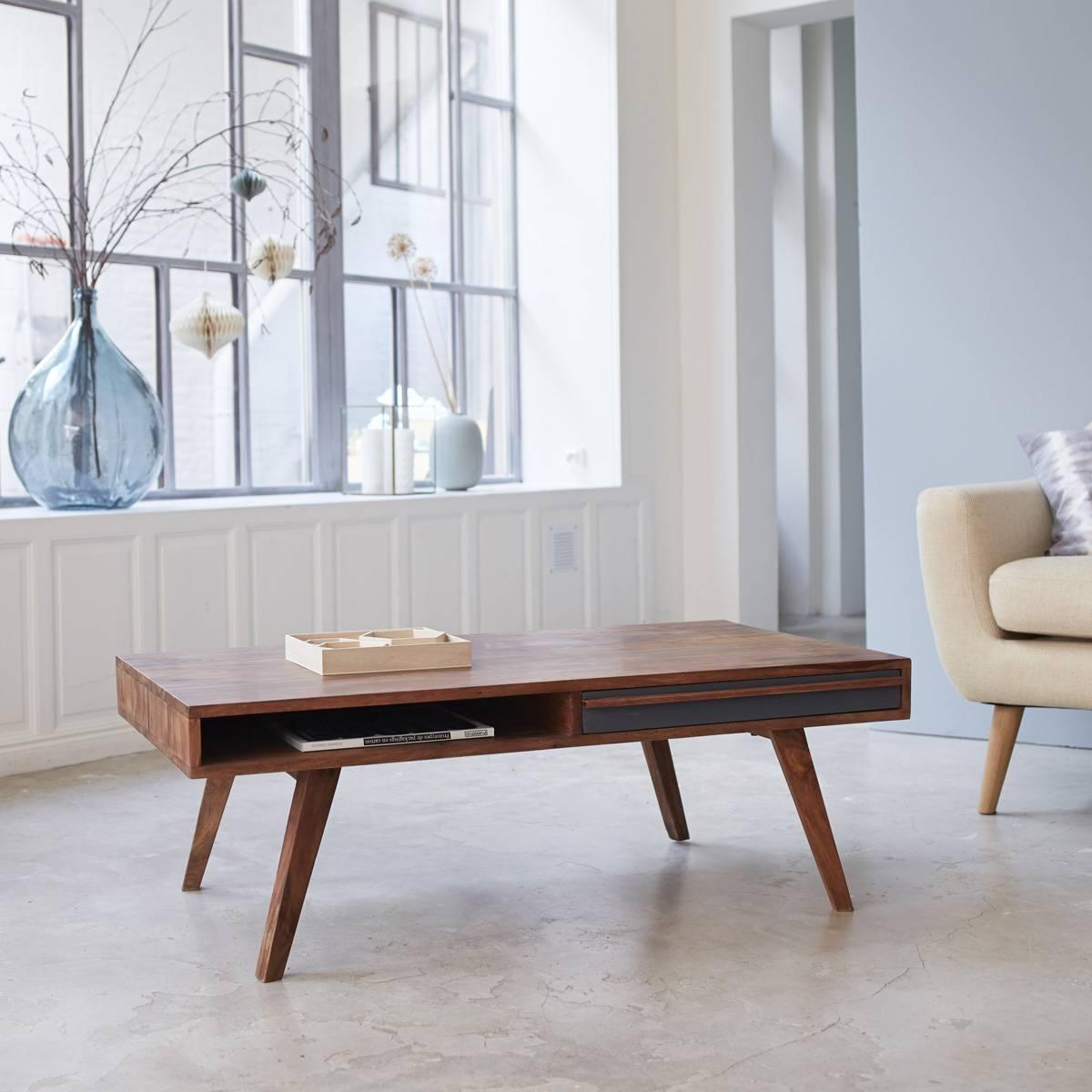 Solid Sheesham Coffee Tables - Square Sheesham Coffee Tables within Sheesham Coffee Tables (Image 22 of 30)