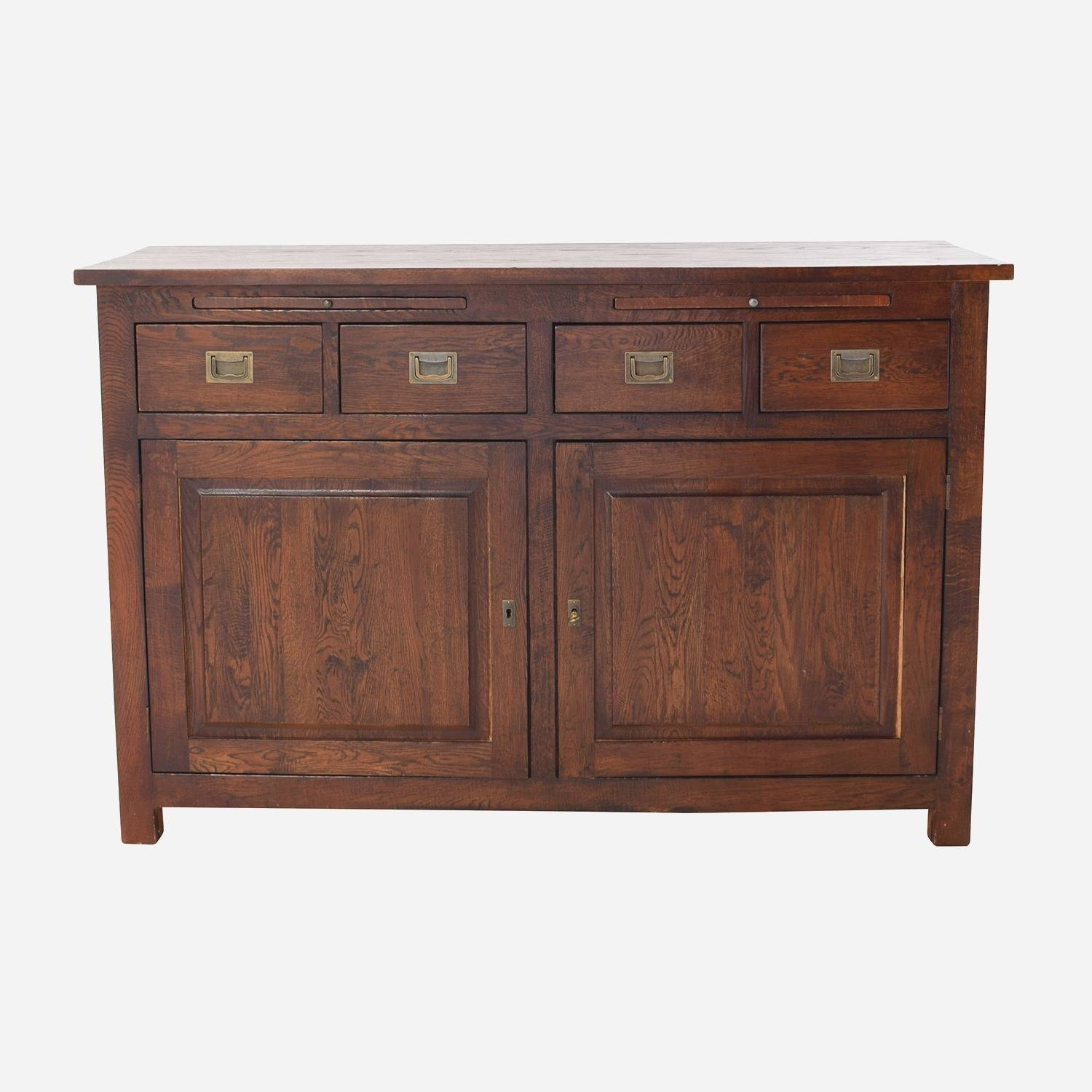 Solid Wood Sideboards And Buffets | Rembun.co with Real Wood Sideboards (Image 26 of 30)