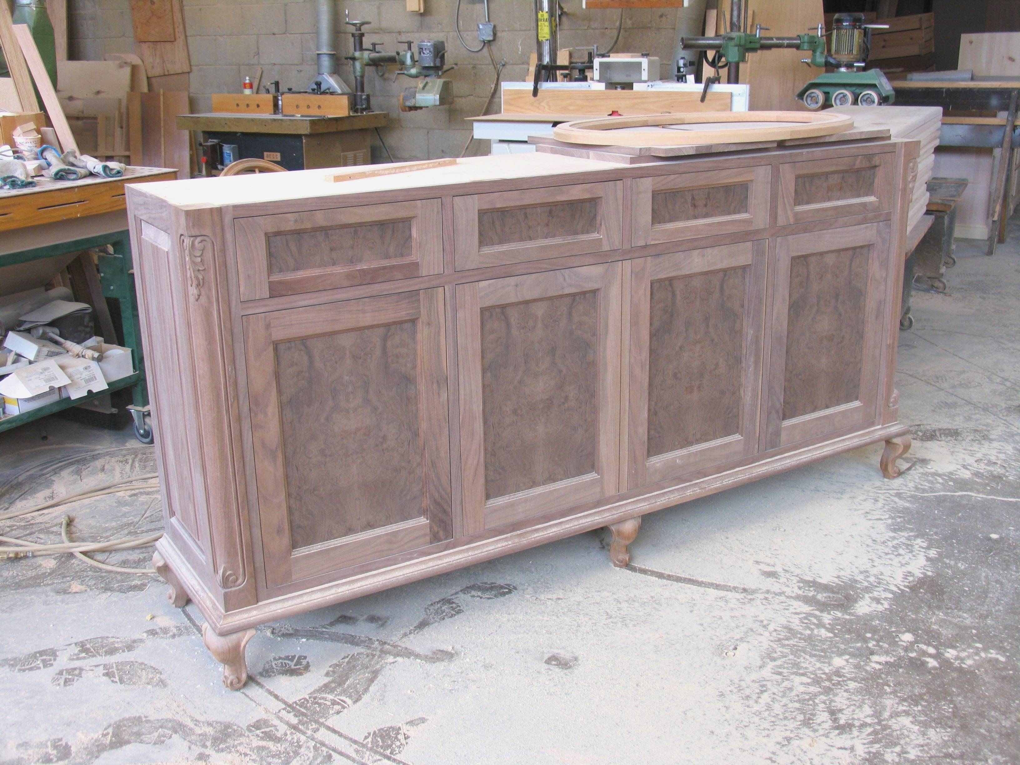Solid Wood Sideboards And Buffets | Rembun.co with regard to Unfinished Sideboards (Image 28 of 30)