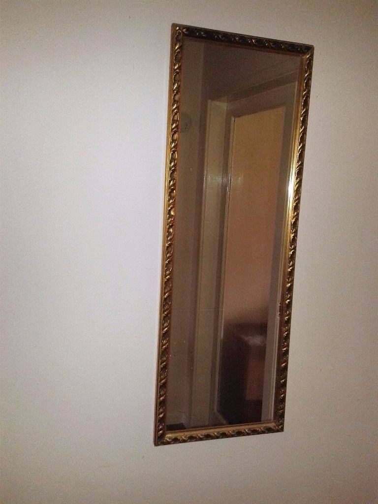 Sophisticated Oblong Gilt Edge Mirror | In Hockley Heath, West throughout Gilt Edged Mirrors (Image 22 of 25)