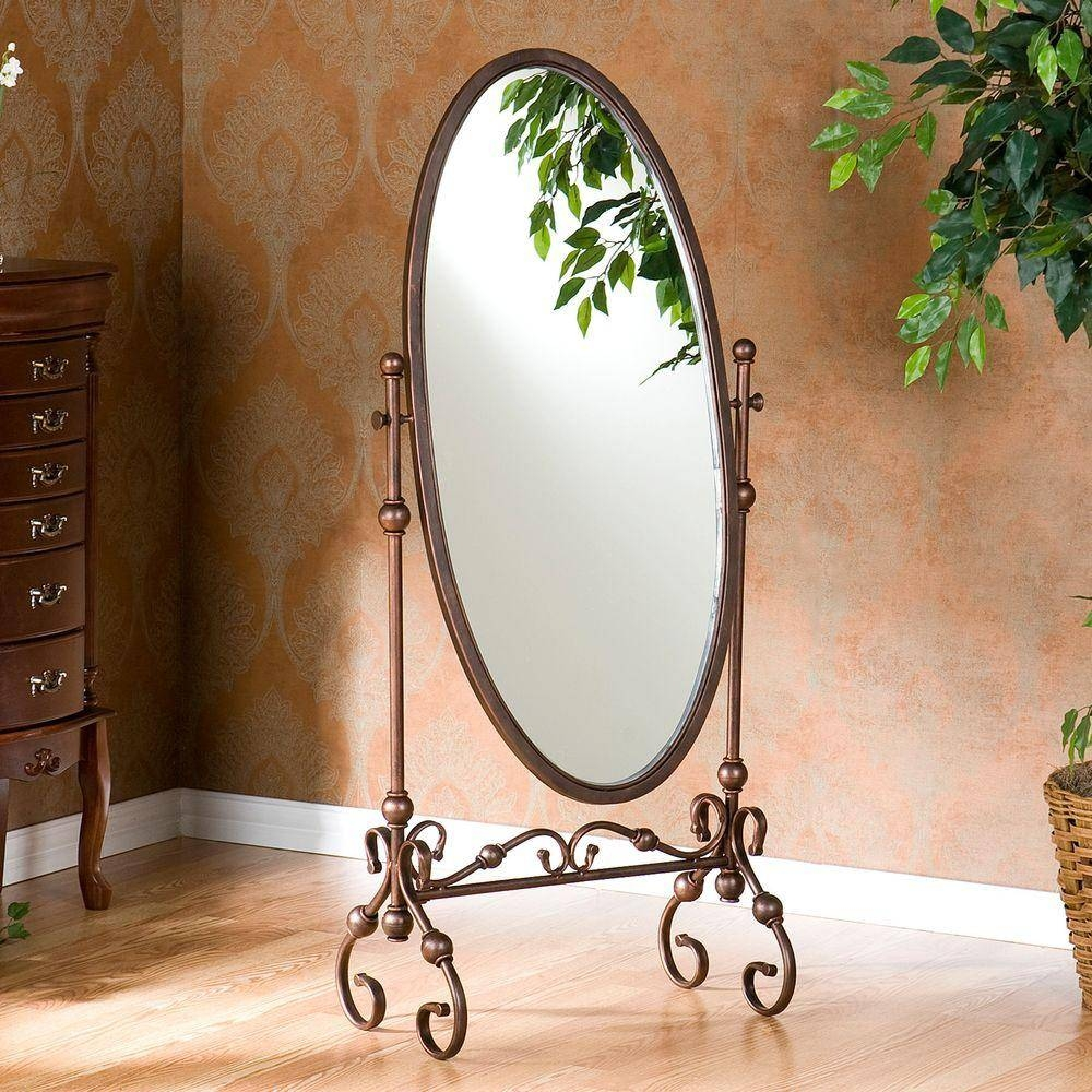 Southern Enterprises 56.75 In X 24 In. Lourdes Cheval Framed pertaining to Iron Framed Mirrors (Image 23 of 25)
