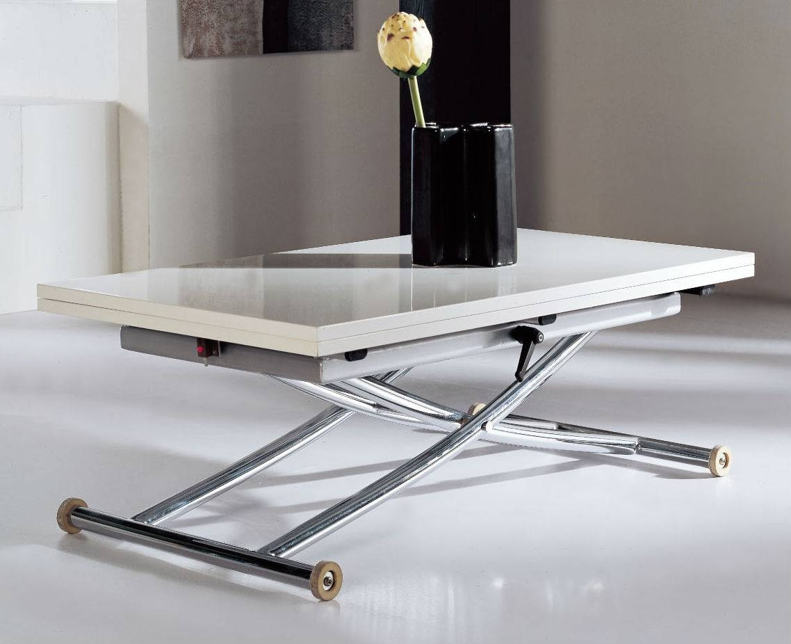 Space Saving Table – Coffee Table Transforms Into Dining Table, Lifts Intended For Space Coffee Tables (View 22 of 30)
