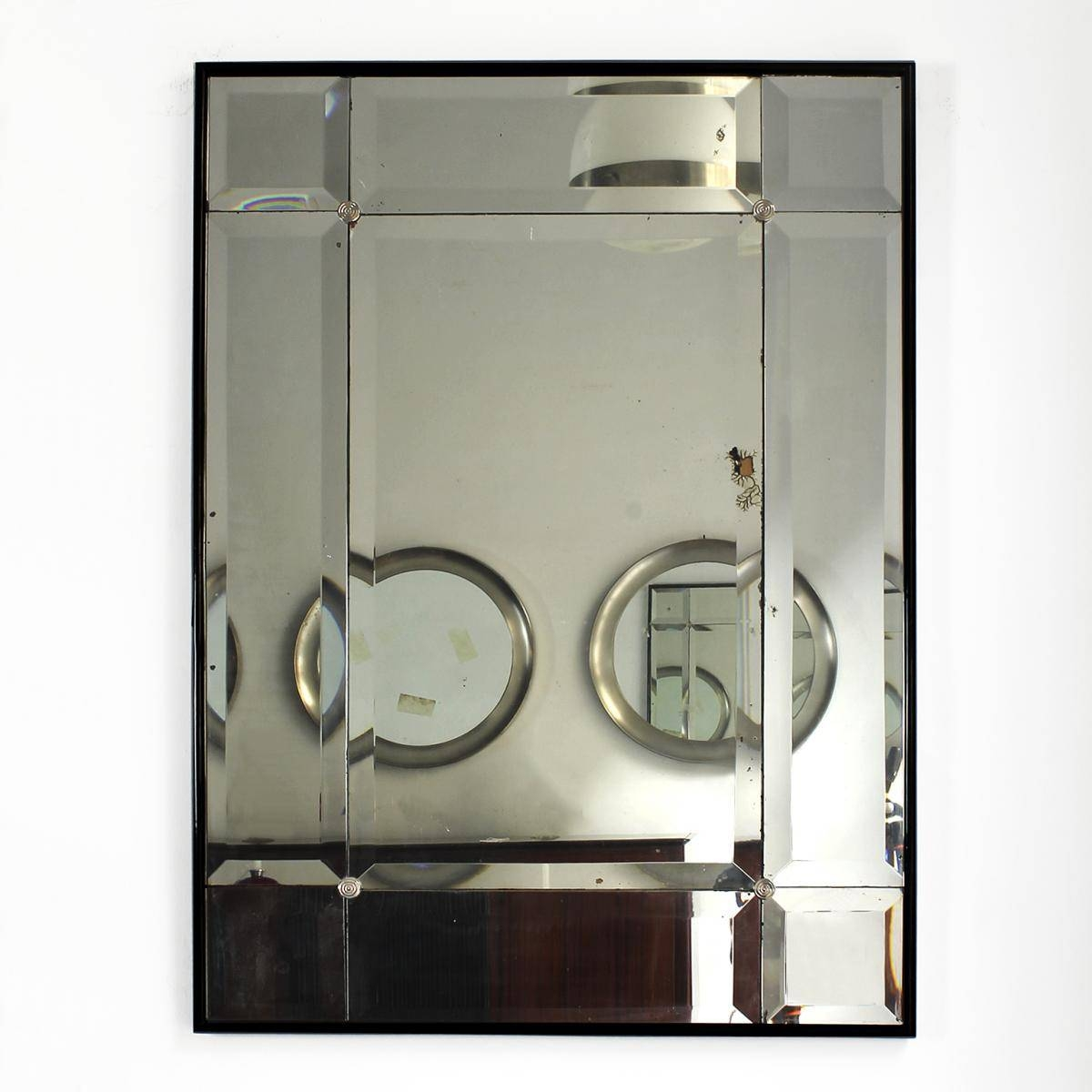 Spanish Art Deco Mirror, 1930S For Sale At Pamono throughout Art Deco Mirrors (Image 24 of 25)