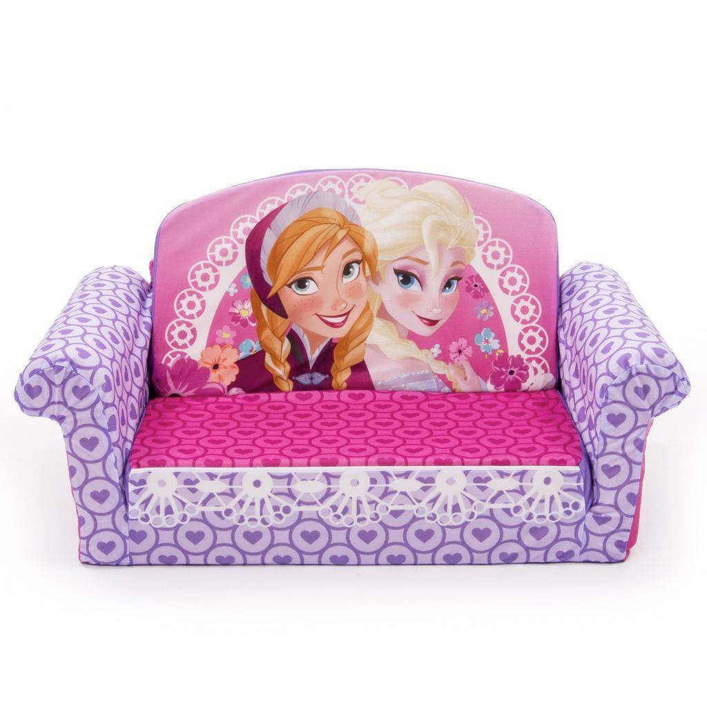 Spin Master - Marshmallow Furniture Flip Open Sofa Disney Frozen intended for Disney Sofa Chairs (Image 14 of 15)