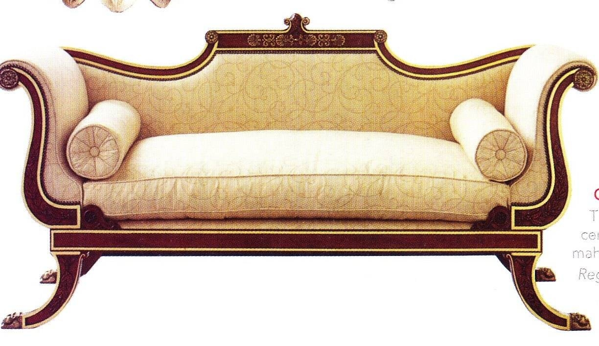 Spotting A Regency Piece Of Furniture To Work Within Your Home · Li with Yellow Chintz Sofas (Image 29 of 30)