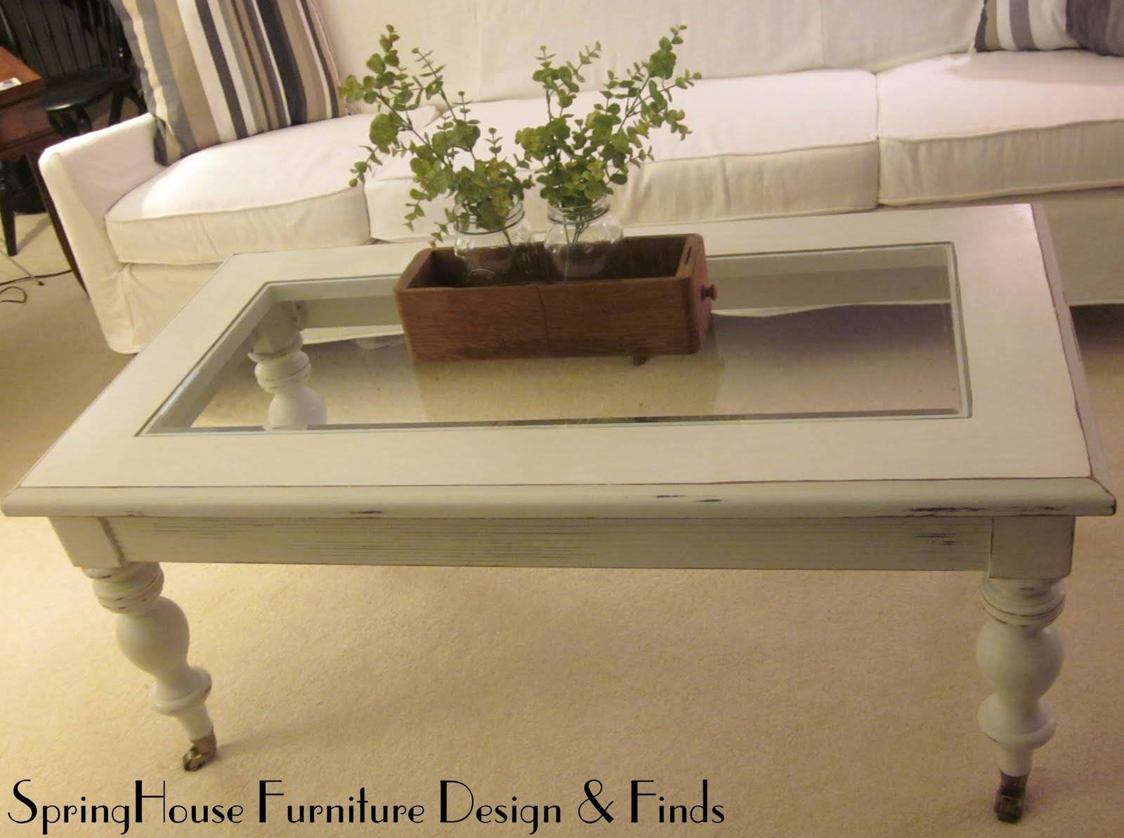 Springhouse Furniture Design & Finds: White Glass Top Coffee Table regarding White And Glass Coffee Tables (Image 25 of 30)