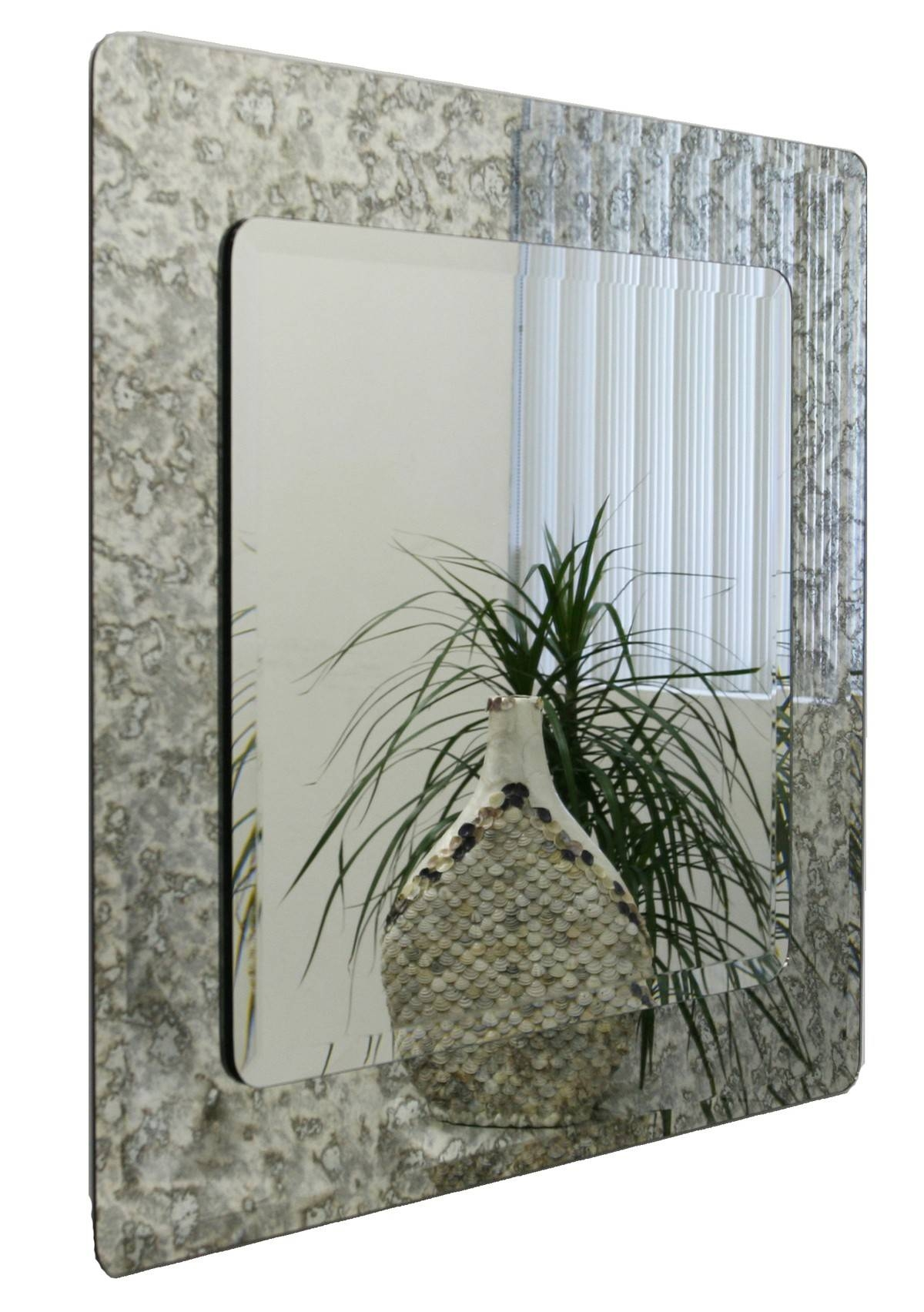 Square Antique Mirrors - Vintage Antiqued Mirrors in Antiqued Mirrors (Image 21 of 25)