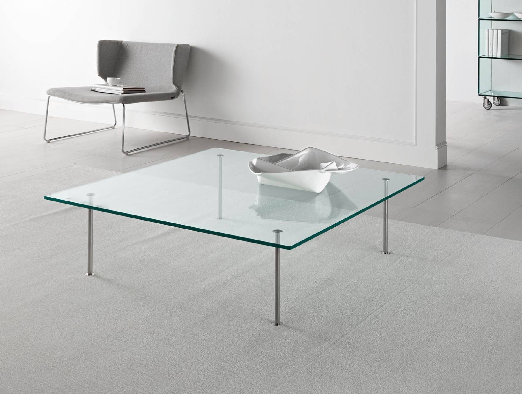 Square Coffee Table Low Furniture Glass Tables Toronto Masterpl Throughout Low  Glass Coffee Tables (Image