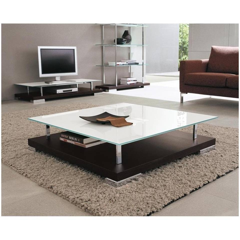 Square Coffee Table With Glass Top – Safeti within Large Square Glass Coffee Tables (Image 26 of 30)