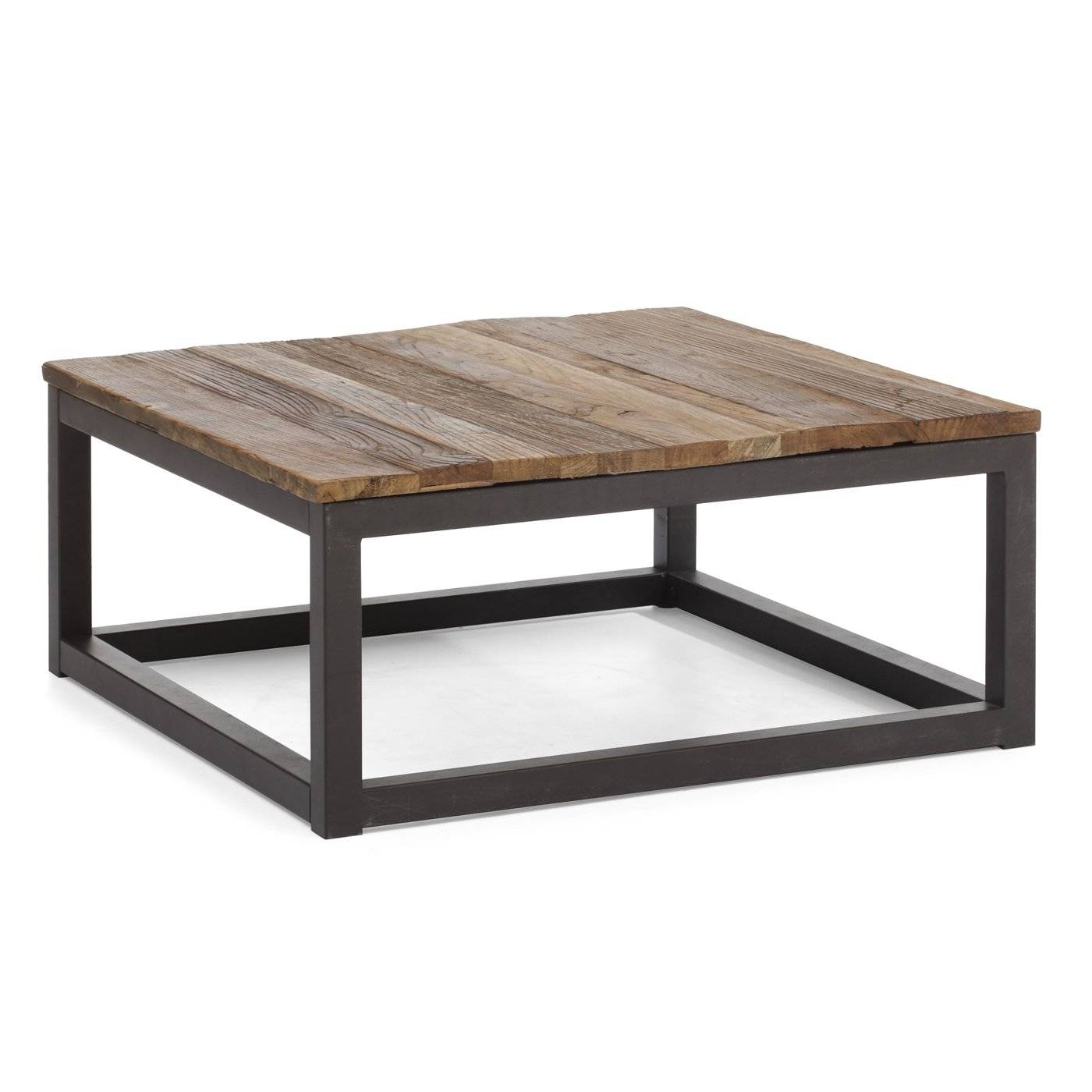 Square Coffee Table With Metal Legs | Coffee Tables Decoration for Metal Square Coffee Tables (Image 20 of 30)