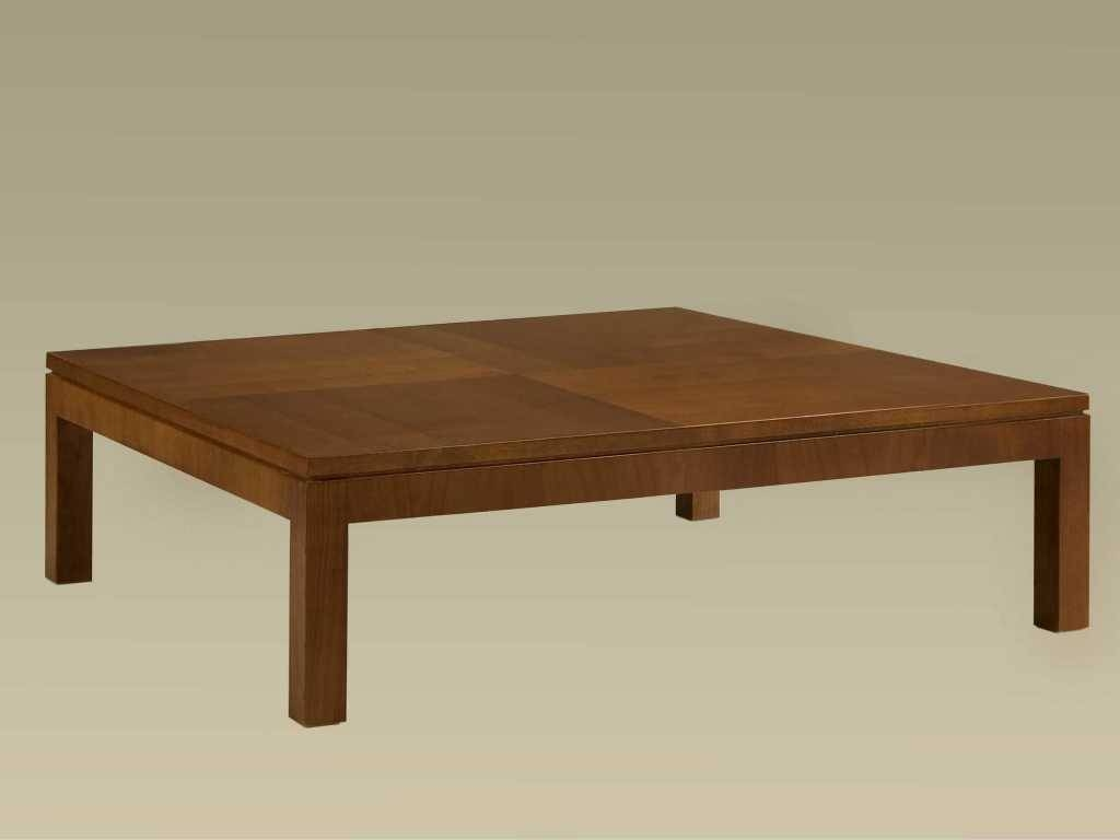 Square Coffee Table Wood : Get Stylish Living Rooms With Square Pertaining To Square Wooden Coffee Tables (View 24 of 30)