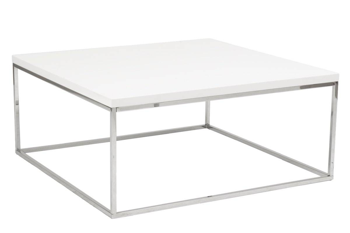Square Coffee Tables - Coffee Tables | Wayfair with regard to Square White Coffee Tables (Image 26 of 30)