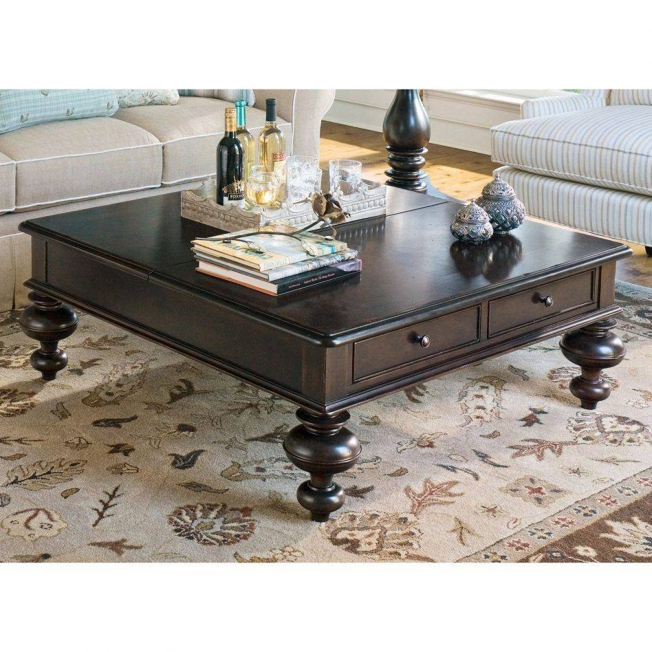 Square Coffee Tables That Lift | Decorative Table Decoration within Dark Wood Square Coffee Tables (Image 29 of 30)
