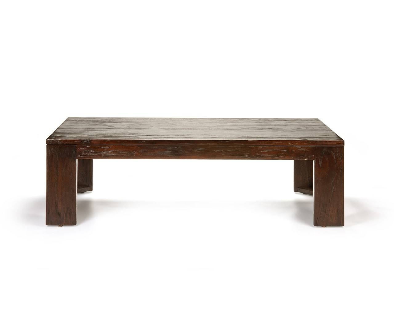 Square Dark Wood Coffee Table / Coffee Tables / Thippo within Square Dark Wood Coffee Tables (Image 26 of 30)