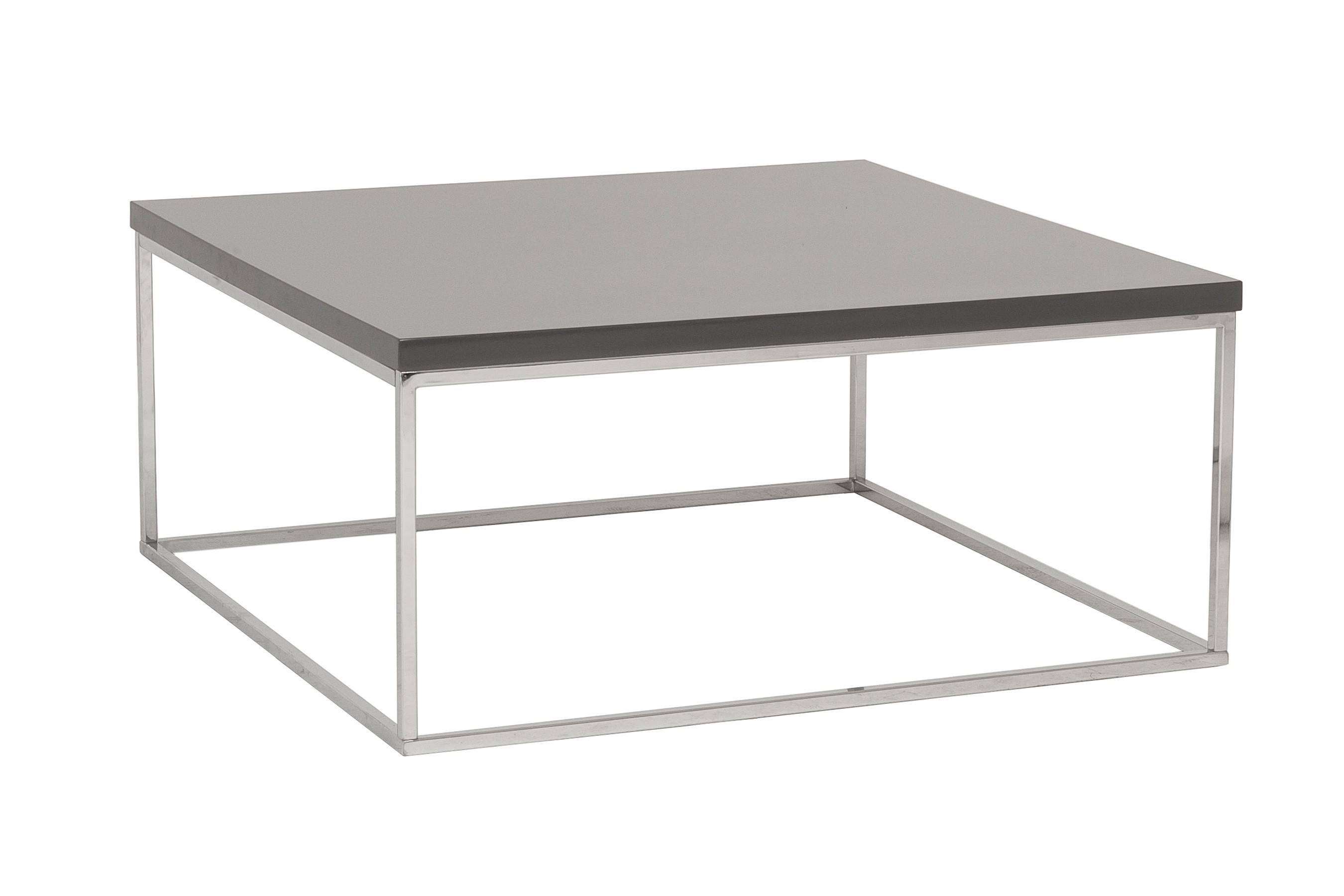 2017 Latest Metal Square Coffee Tables