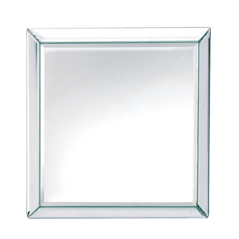 Square Plain Venetian Mirror | Wall Mirrors | Lighting & Mirrors in Square Venetian Mirrors (Image 21 of 25)