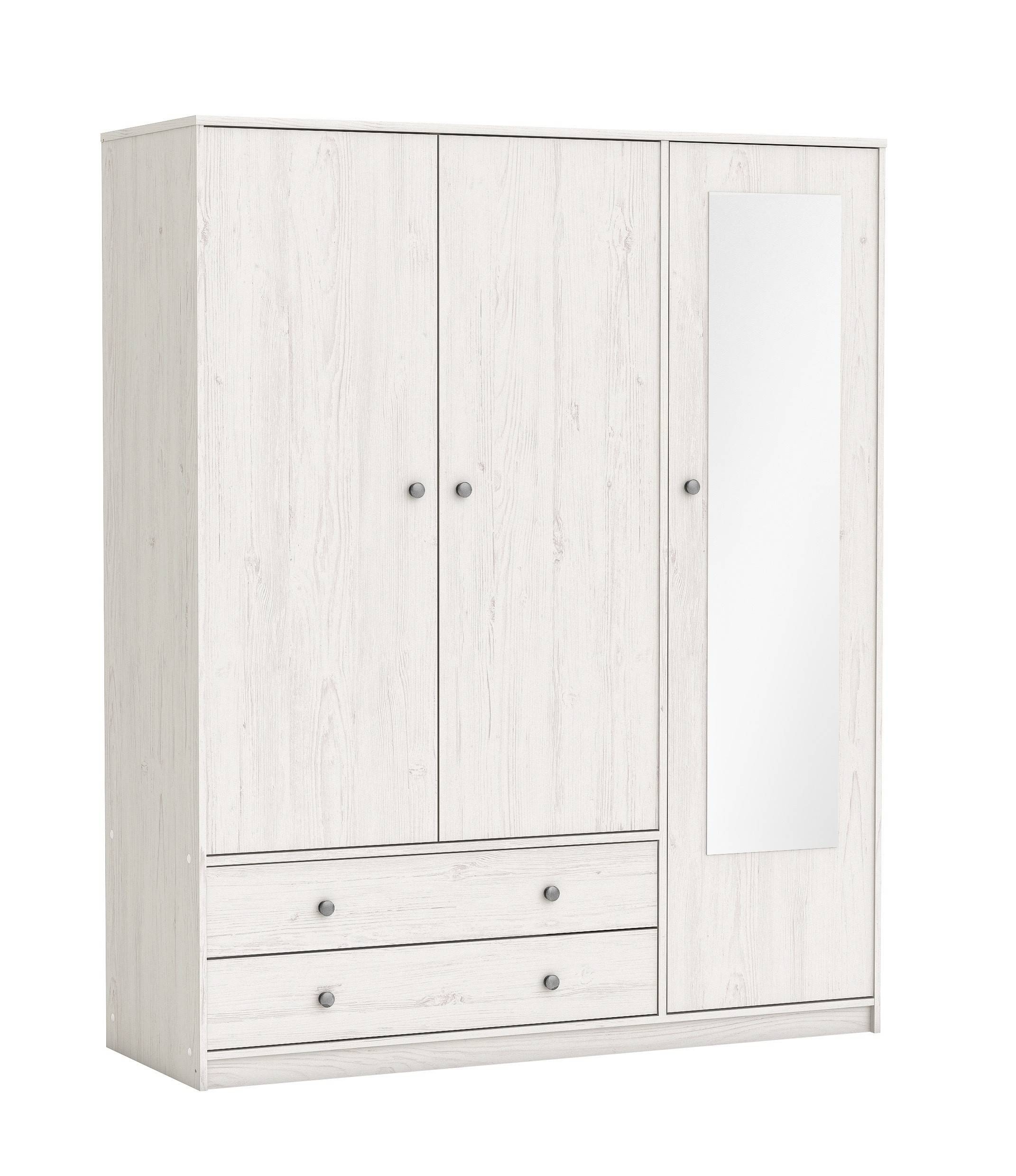 St Ives 3 Door Wardrobe - Brixton Beds pertaining to 3 Door White Wardrobes (Image 23 of 30)