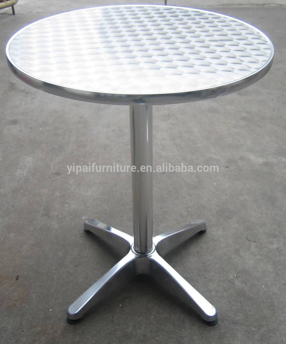 Stainless Steel Round Coffee Table 6 - Buy Coffee Table,stainless regarding Aluminium Coffee Tables (Image 29 of 30)