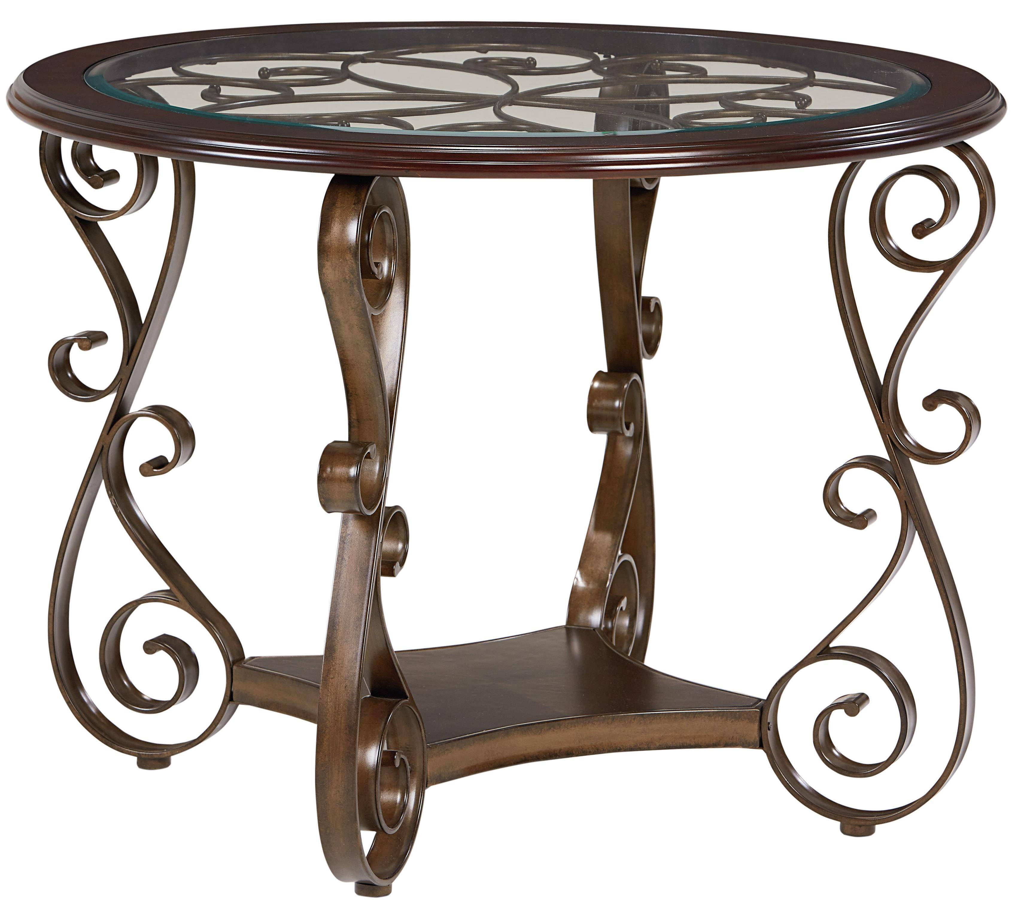 Standard Furniture Bombay Round Counter Height Table   Wayside Throughout Bombay Coffee Tables (Photo 27 of 30)