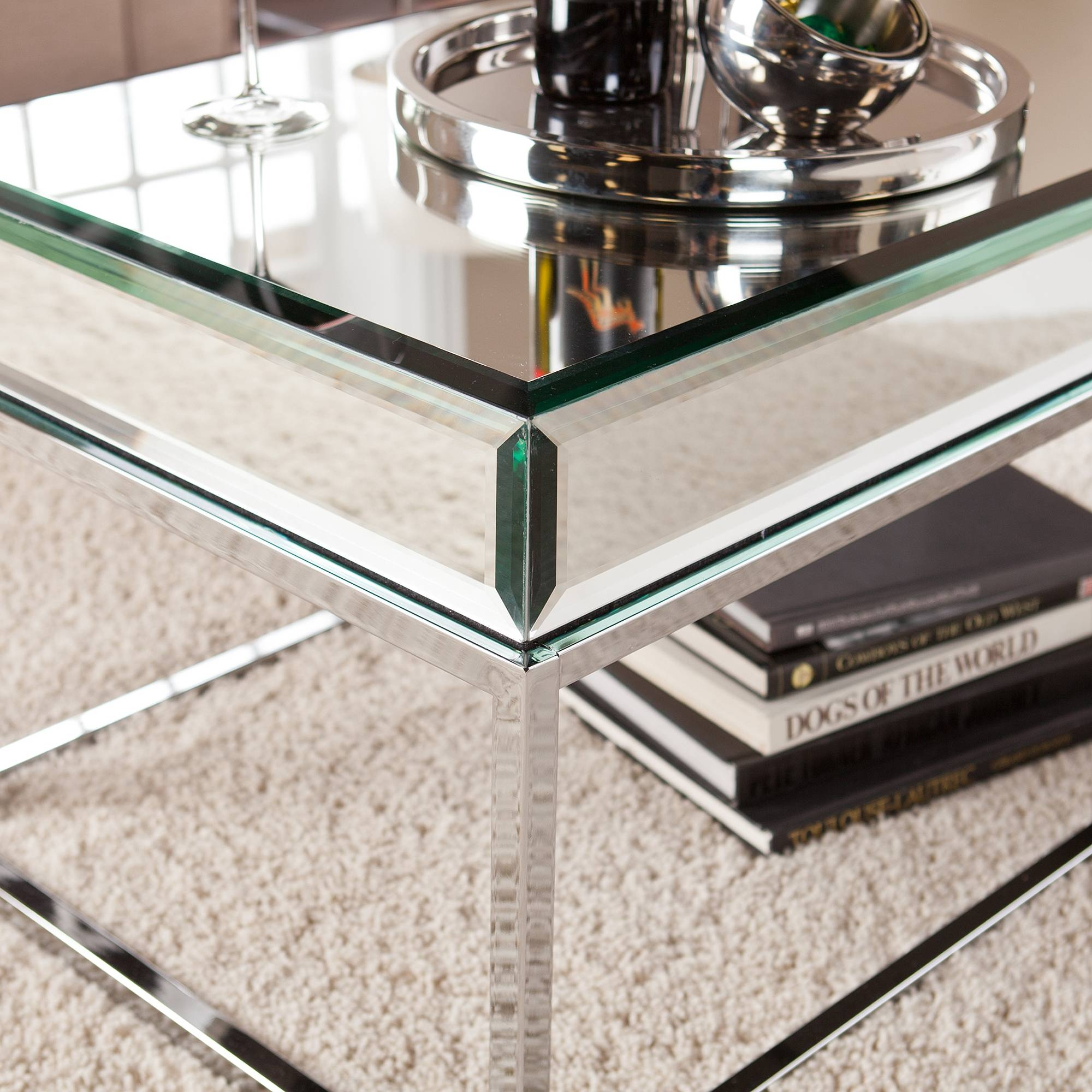 Featured Photo of Mirrored Coffee Tables