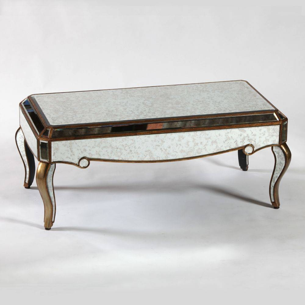 Steal A Unique Experience With These Antique Coffee Table Regarding Antique Mirrored Coffee Tables (View 16 of 30)